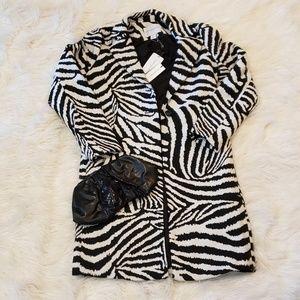 Carolina Belle Zebra Coat